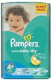 Pampers Active Baby-Dry 4+ Maxi PLUS 7 ...