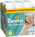 Pampers Pieluchy Active Baby 6 Extra L ...