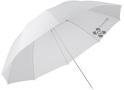 Quadralite parasolka biała przezroczys ...