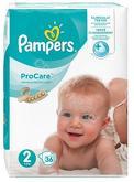 Pampers PROCARE 2 Pieluchy 36 szt 9086 ...
