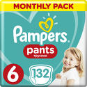 Pampers Pants 6 Active Baby Dry 132 sz ...