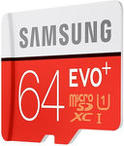 Samsung MicroSDXC Evo Class 10 + adapt ...